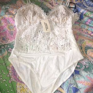 Forever 21 lace bodysuit